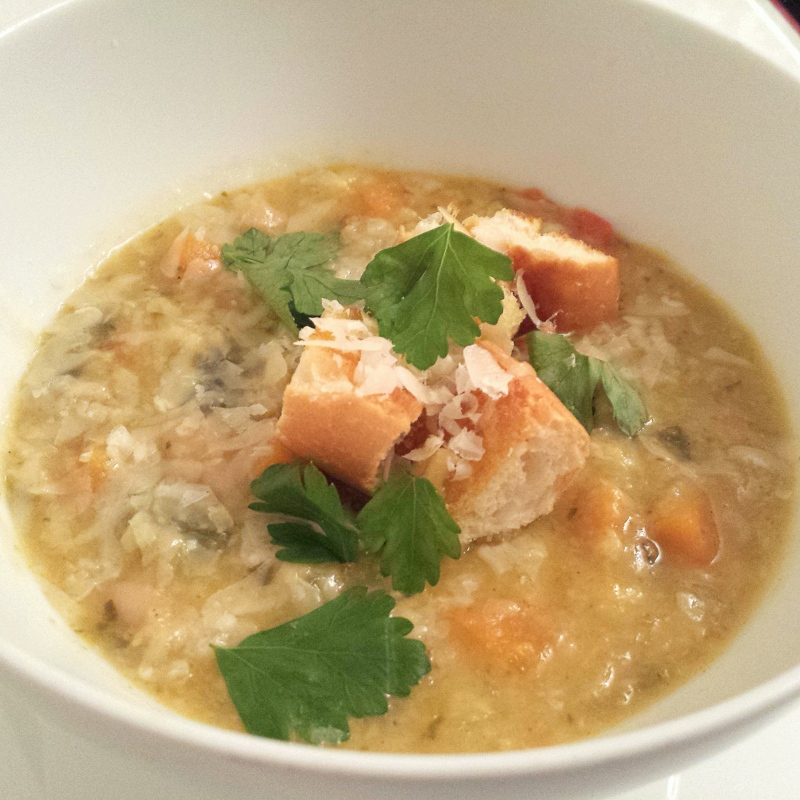 Ribollita – Tuscan Bean and Vegetable Soup