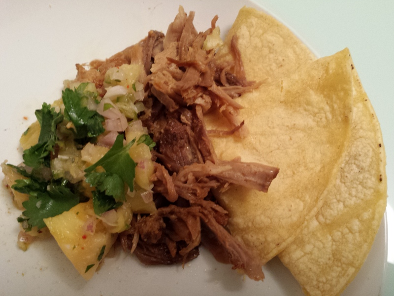 Pineapple Pulled Pork Tacos Al Pastor