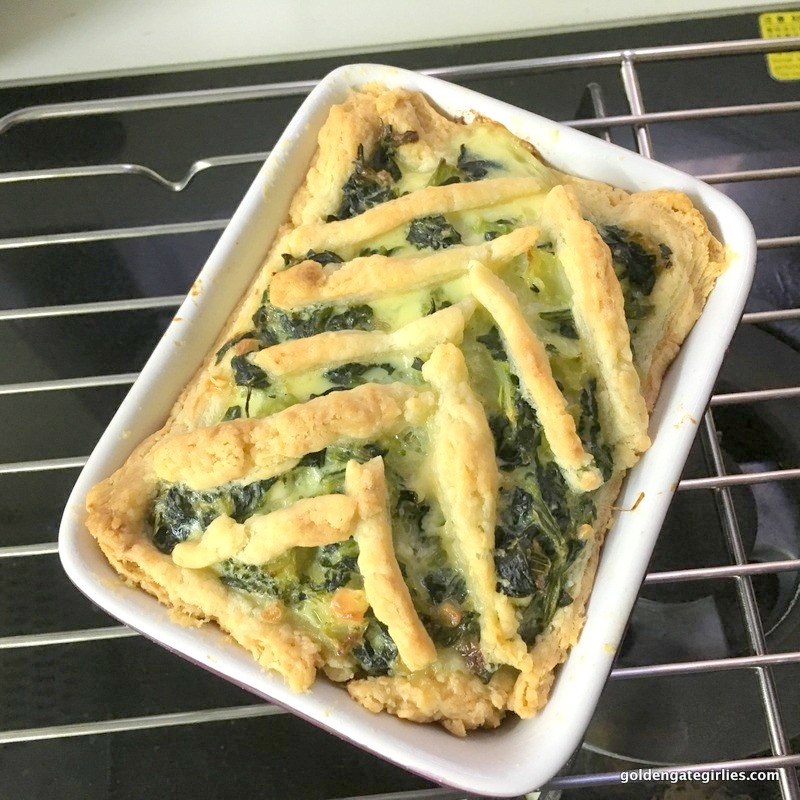 Spinach and Broccoli Cheese Pie – Starbucks Hong Kong copycat