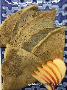 Buckwheat Crepes – gluten free and vegan!